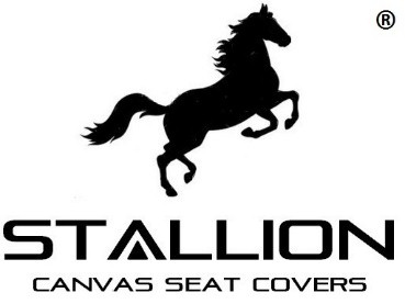 Stallion Canvas Seat Covers Logo