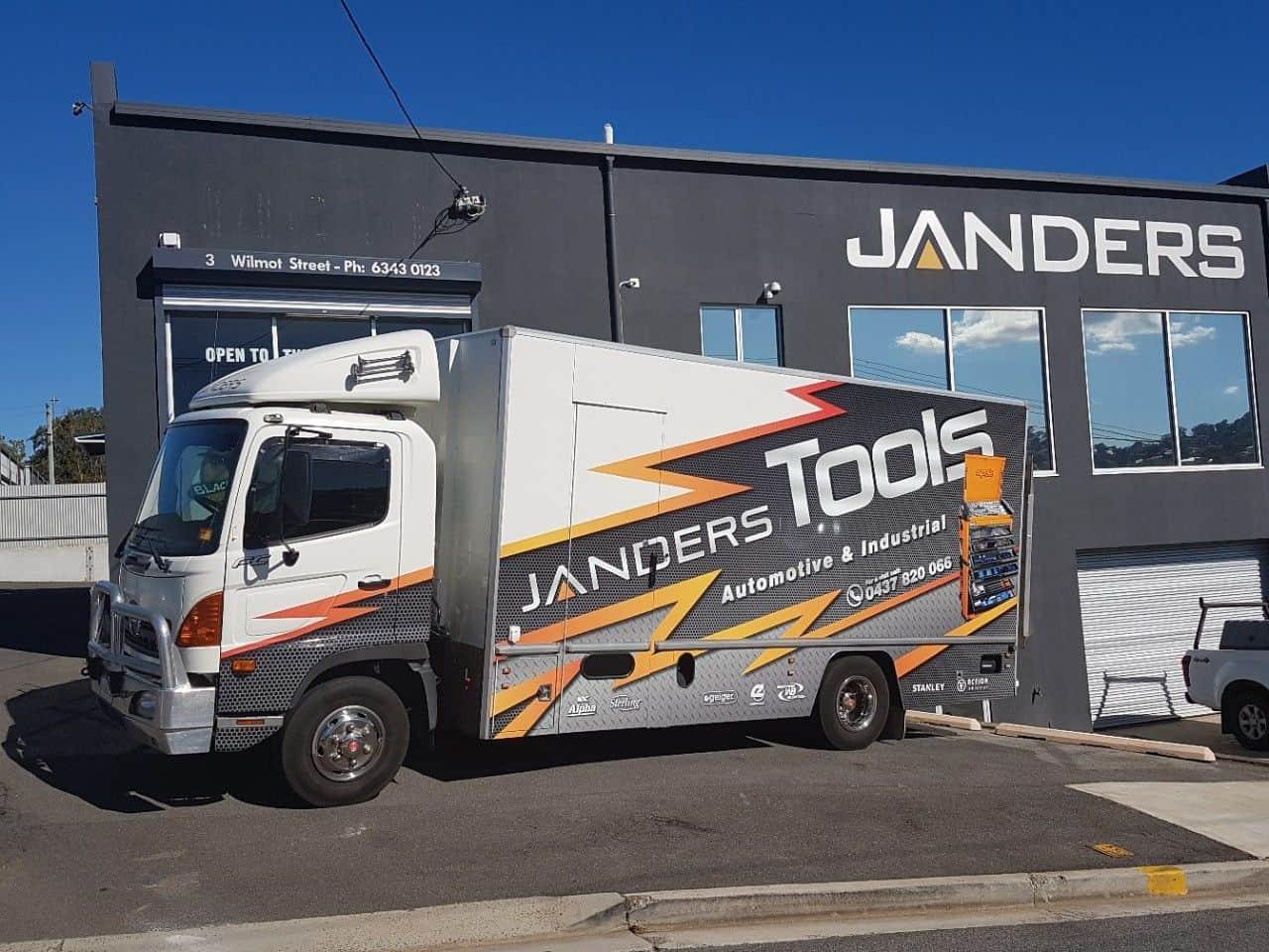 Janders Tool Truck Launceston -Janders Group