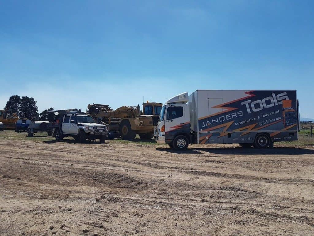 Janders Tool Truck On Site -Janders Group