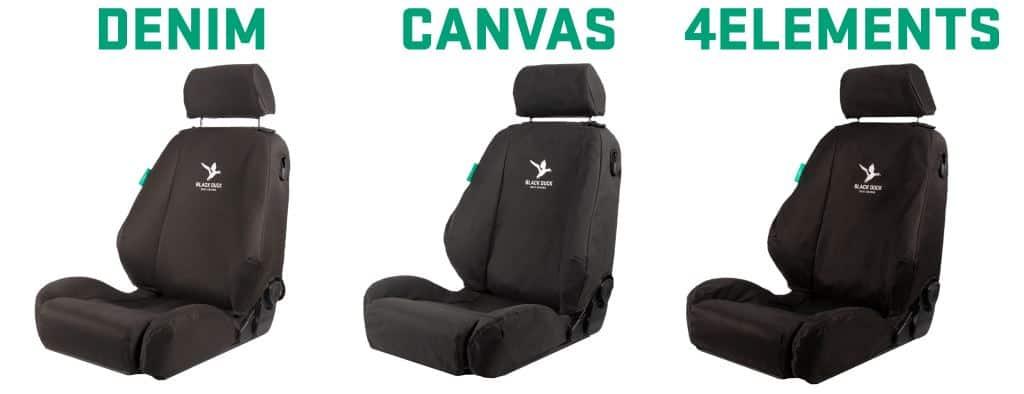 Black Duck Car Seat Covers -Janders Group