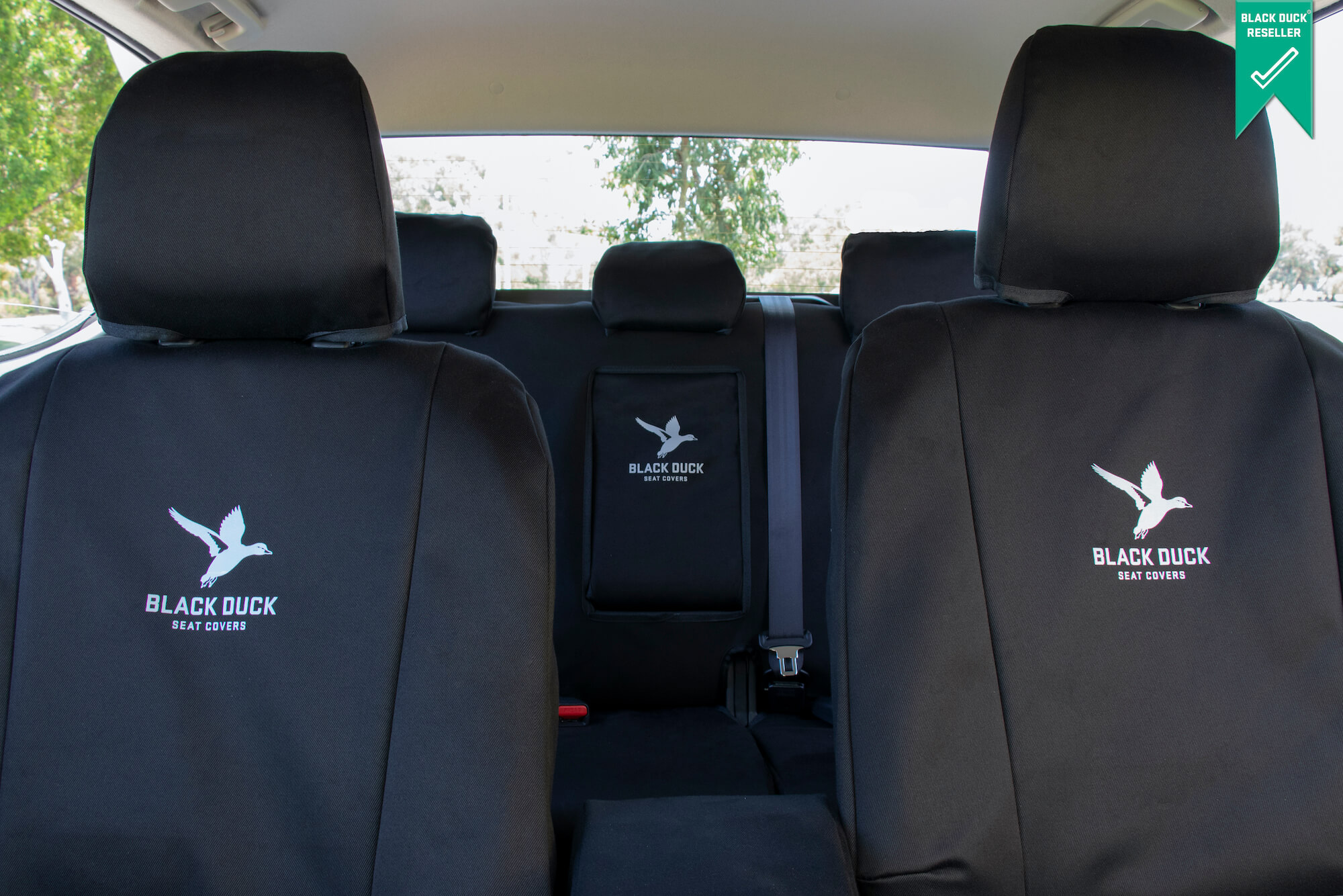 Janders | Black Duck Car Seat Covers- 4 Elements